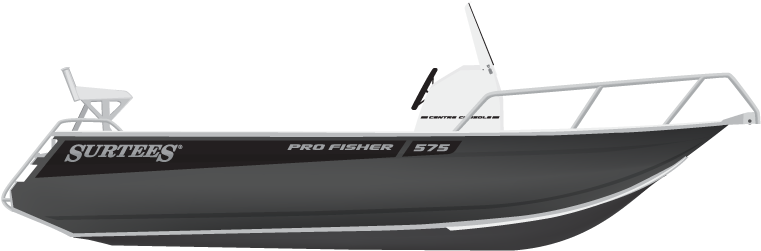 Surtees 575 Pro Fisher