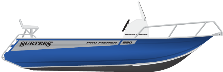 Surtees 650 Pro Fisher