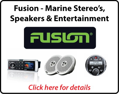 Fusion Marine - Stereo's, Speakers & Entertainment - Best Prices - Northside Marine - Brisbane - Queensland