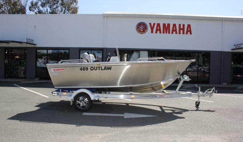 2021 Stacer 469 Outlaw SC + Yamaha F60LB full
