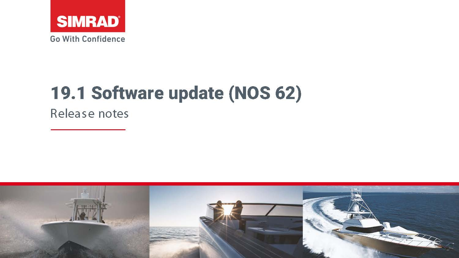 19.1 Release Notes Simrad EXTERNAL Page 01
