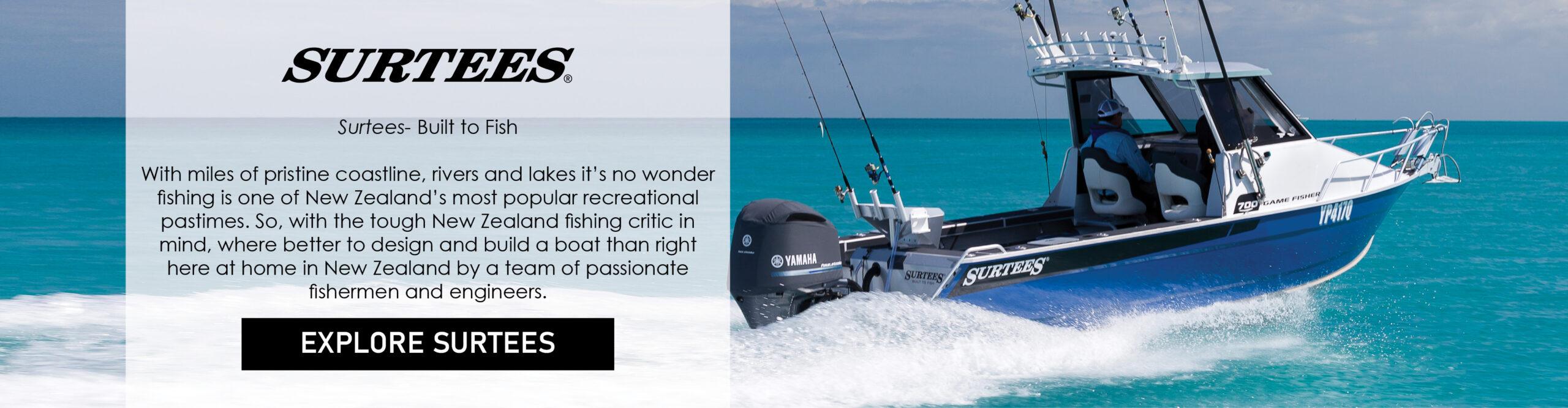 Surtees: Built to Fish!