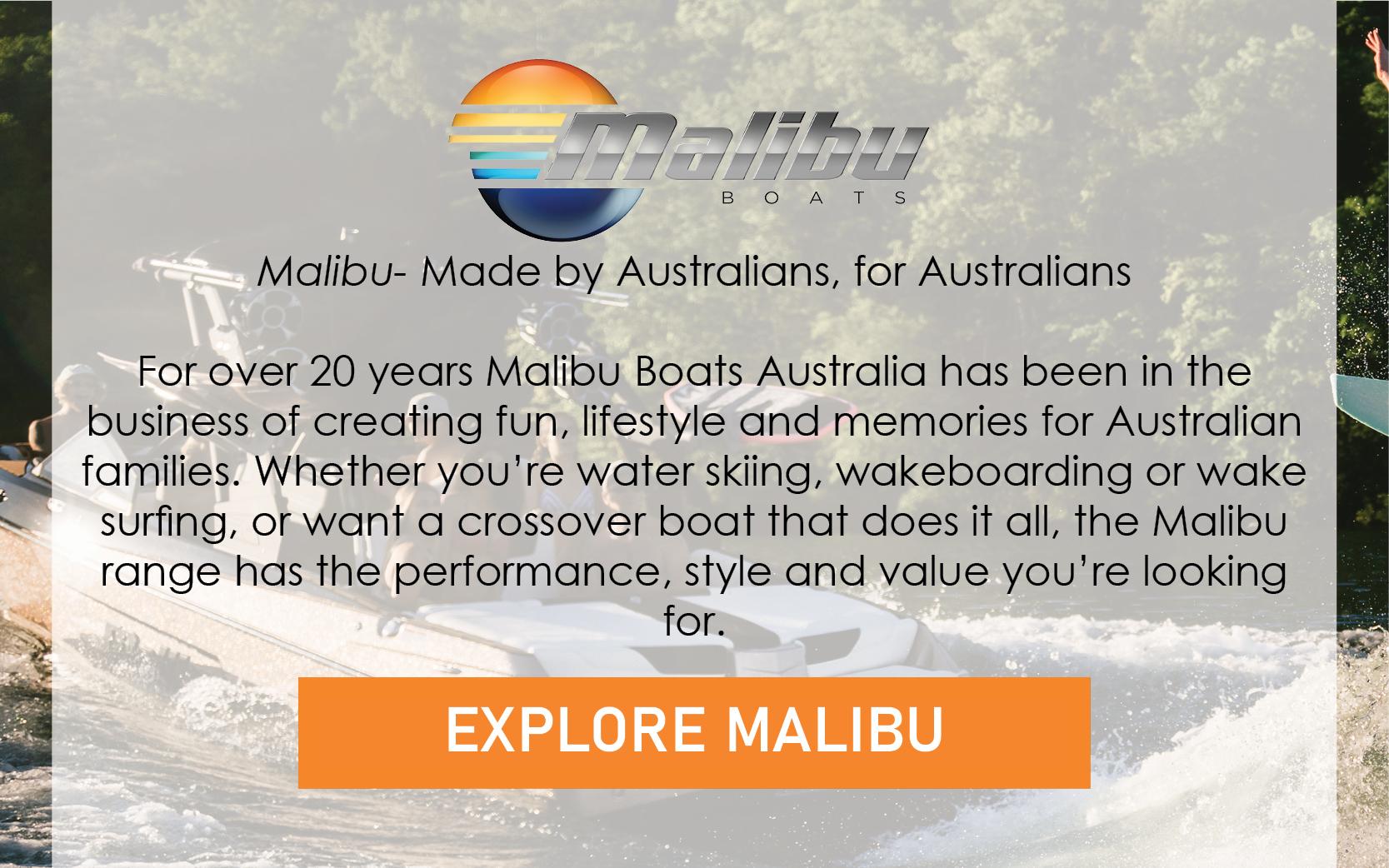 Malibu - Made by Australians, for Australians.