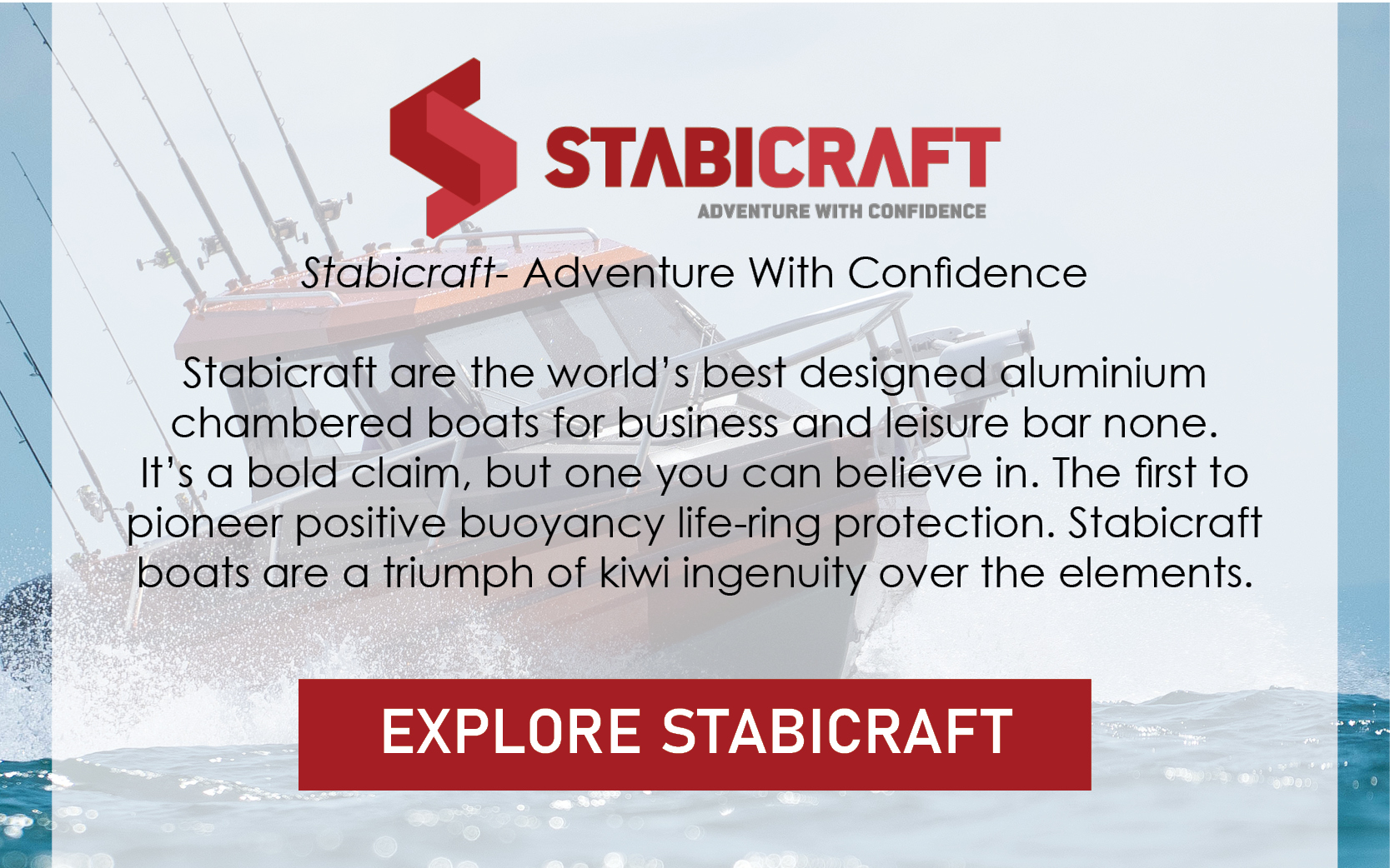Stabicraft- Adventure With Condfidence!