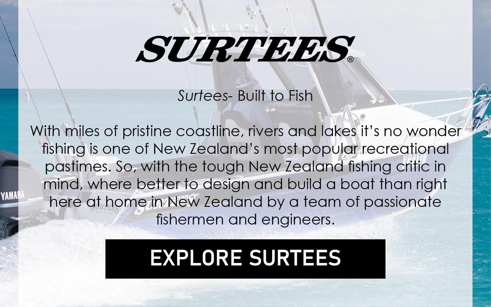 Surtees: Built to Fish.
